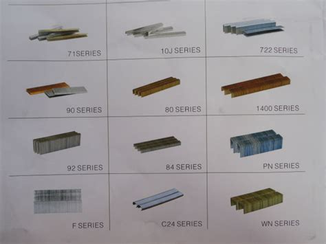 size staples for upholstery hot selling different sizes industrial staples for