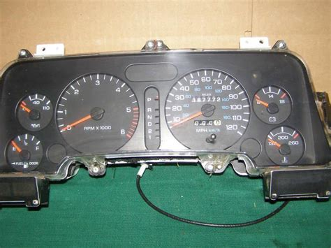 transmission control 1997 chevrolet 3500 instrument cluster buy 1994 1995 1996 1997 dodge ram 1500 2500 3500 speedometer cluster 168k at gas motorcycle in