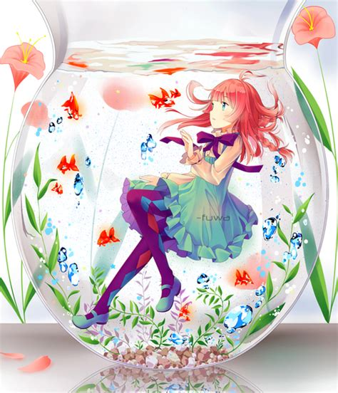 anime fish girl image 1539941 by aaron s on favim com