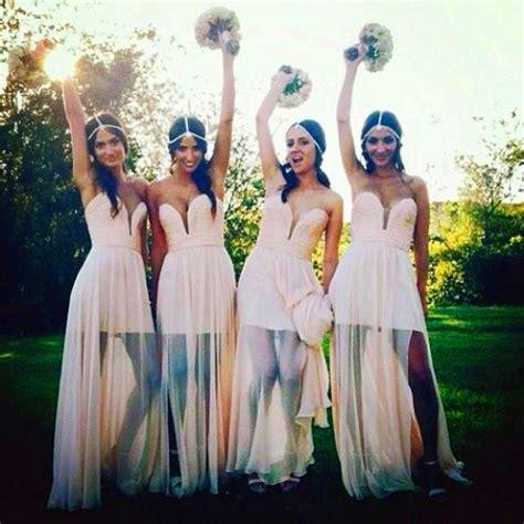 bohemian jurk bruiloft gast aliexpress koop 2015 bohemian bruidsmeisjekleding