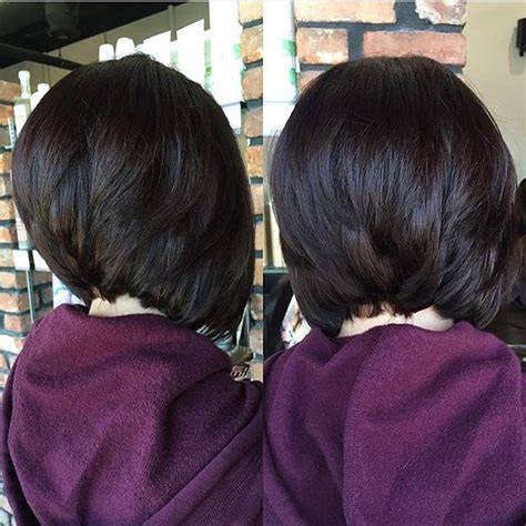 stacked haircuts for black women stacked bob нαιя ѕтуℓєѕ ι ℓσσνє pinterest