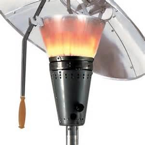 Calor Gas Patio Heaters Heat Focus Hourglass Gas Patio Heater