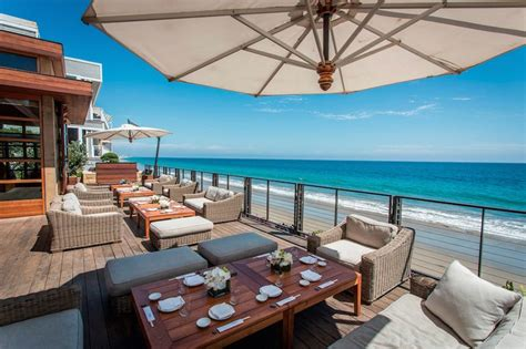 Make Dining Room Table 16 Beachside Dining Spots Perfect For A Summer Meal In Los
