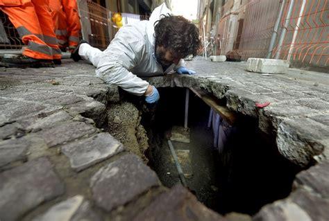 banche a parma parma nel tunnel dove i rapinatori preparavano il colpo