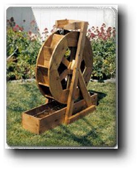 backyard water wheel water wheel woodworking plans