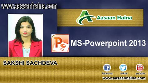 powerpoint tutorial in hindi powerpoint tutorial in hindi create presentation with