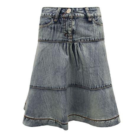 New For New Flare Skirt Rok A Line Celana Fashion Korea new womens a line knee length denim blue flared casual skirt ebay