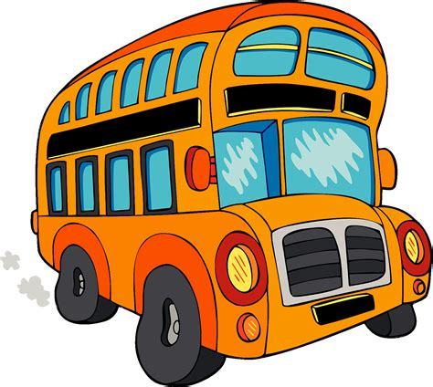 party bus clipart kids fun bus png clipart download free images in png