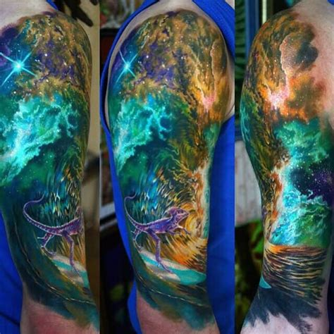 ocean sleeve tattoo designs 30 images and designs for and
