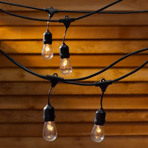 string lights 48 ft with 15 light bulbs included