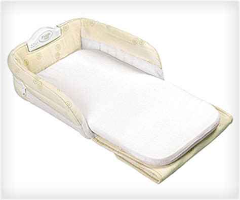 Babysafe Mattress by Portable Baby Sleeper For Infant Safety Sleeping On Bed