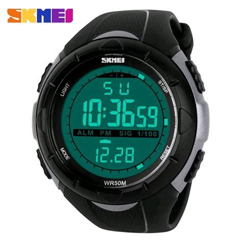 Jam Tangan Cowok Pria Anti Air jam tangan pria cowok skmei original ps1025 s shock