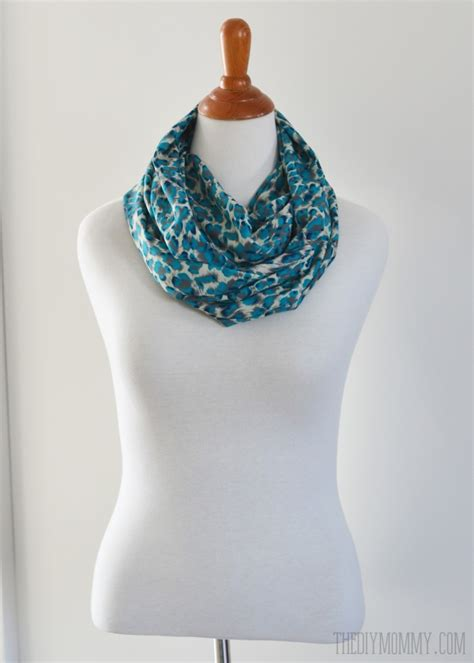 infinity scarf make an easy 15 minute infinity scarf the diy