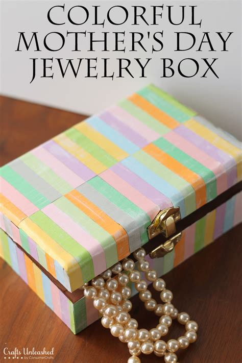mothers day diy crafts diy jewelry box for s day crafts unleashed