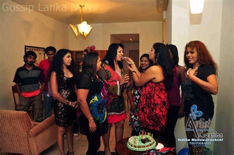 sri lankan actress birthday party photos srilankan actress srilanka actress rohani weerasinghe