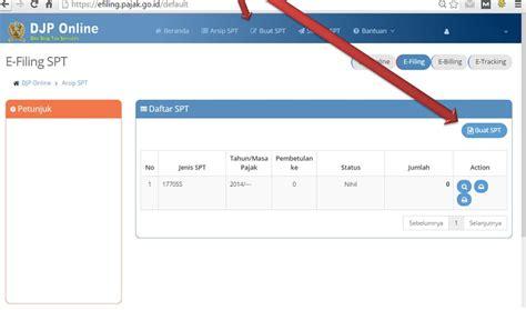 tahap membuat npwp online mau lapor spt online pakai efilling pajak aja sepulsa