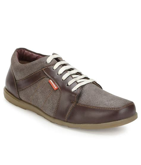 brown casual shoes provogue brown casual shoes price in india buy provogue