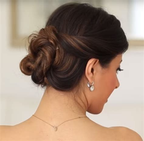 curled hairstyles for hair master the effortless curled bun hairstyle with this