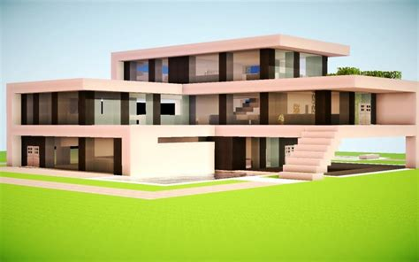 awesome modern houses realistic modern minecraft houses minecraft nerd