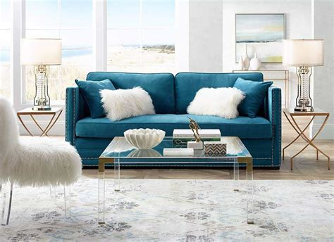 chic acrylic coffee tables   elegant living room