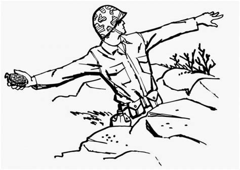 world war 1 soldiers coloring pages