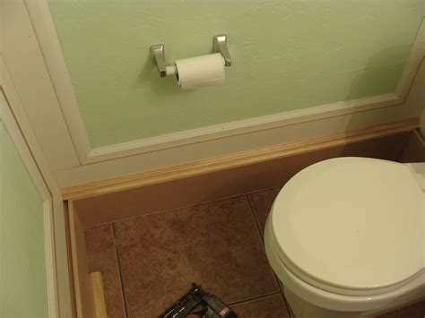 bathroom baseboards 3 bathroom moldings how to install the joy of moldings com