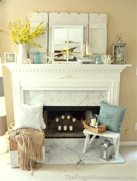 fireplace mantel decorating ideas home 10 coastal decorating ideas fireplaces summer and say you