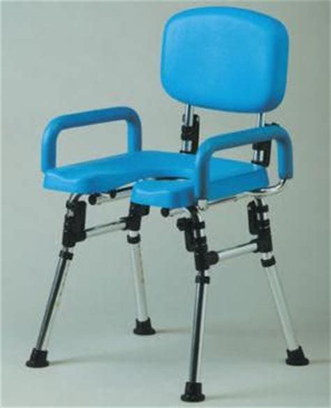 disabled shower chair folding deluxe folding shower chair with cut away seat shower