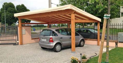 progettare una tettoia in legno tettoie per auto legno costruire