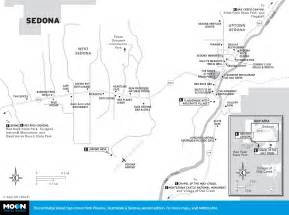 where is sedona arizona on the map travel map of sedona arizona
