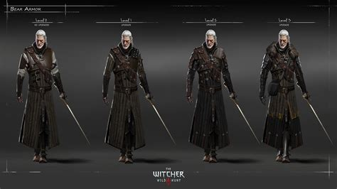 all gear the witcher 3 armor