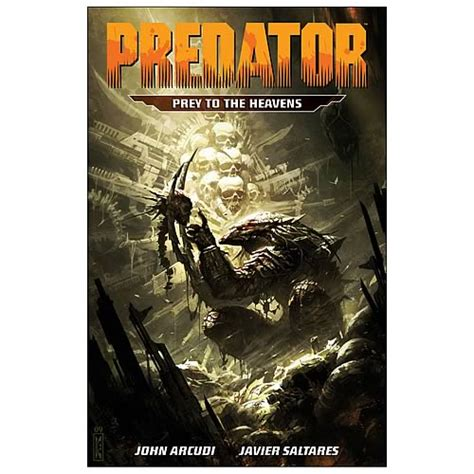prey a prey novel predator prey to the heavens graphic novel