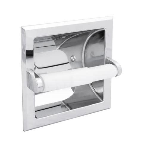 designers image recessed paper holder  menards