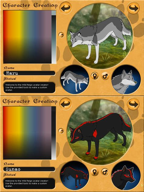 wolf maker design your wolf characters my blackblood alliance wolves by sidgi on deviantart