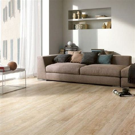 Tile Flooring Living Room White Oak Wood Mixed With Porcelain Floor Tile Wood Effect Floor Tiles Living Room Flooring