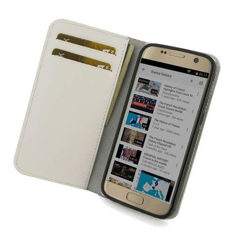 Samsung Galaxy S7 Wallet Caseme Leather Flip Cover Casing Dompet samsung galaxy s7 leather smart flip wallet white pdair pouch