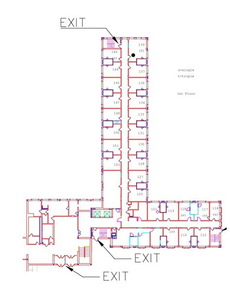 decker floor plan decker residential education and housing