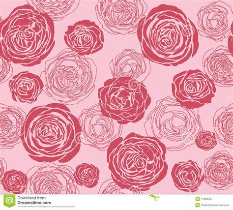 rose pattern name rose pattern stock vector illustration of outline symbol
