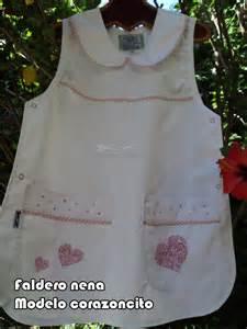 modelos de guardapolvos ponchitos para nena guardapolvos artesanales
