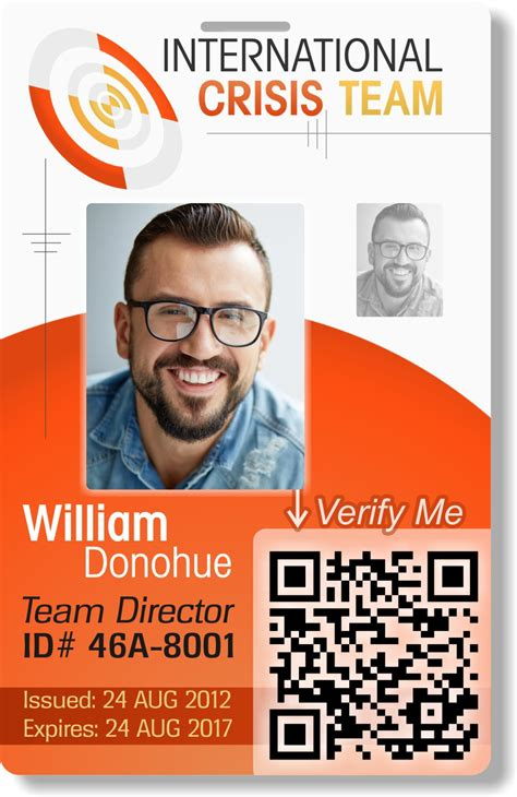 portrait id card template portrait id card template portrait id card template