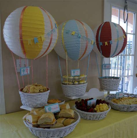 Air Balloon Baby Shower Ideas by Air Balloon Baby Shower Ideas Photo 22 Of 60