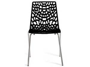 chaise groove 2 coloris noir vente de chaise de cuisine