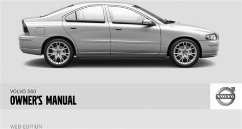 download 2008 volvo s60 owner s manual pdf 230 pages 08 volvo s60 2008 owners manual download manuals technical