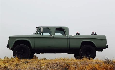 64 Dodge Power Wagon by Icon 1964 Dodge Power Wagon Cool Material