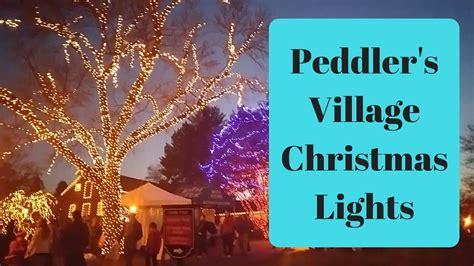 peddler s village christmas lights peddler s village christmas lights december 2017 youtube
