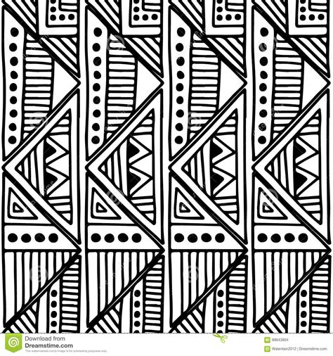 seamless tribal pattern vector free seamless vector pattern black and white geometrical