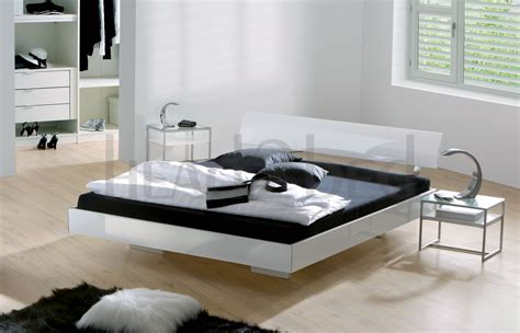 white modern bed floating beds design ideas ifresh design