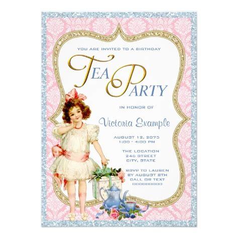 tea party invitation wording gangcraft net