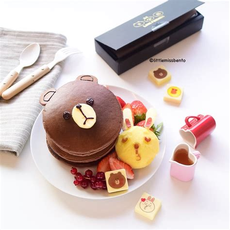 Brown Cony 03 brown cony pancakes miss bento