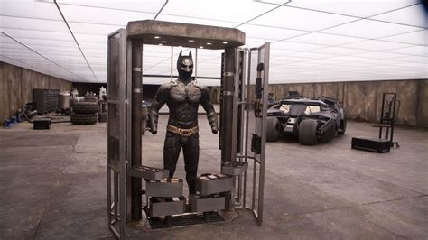 Batcave Garage by Awesome Dude Built Bruce Wayne S Garage From The
